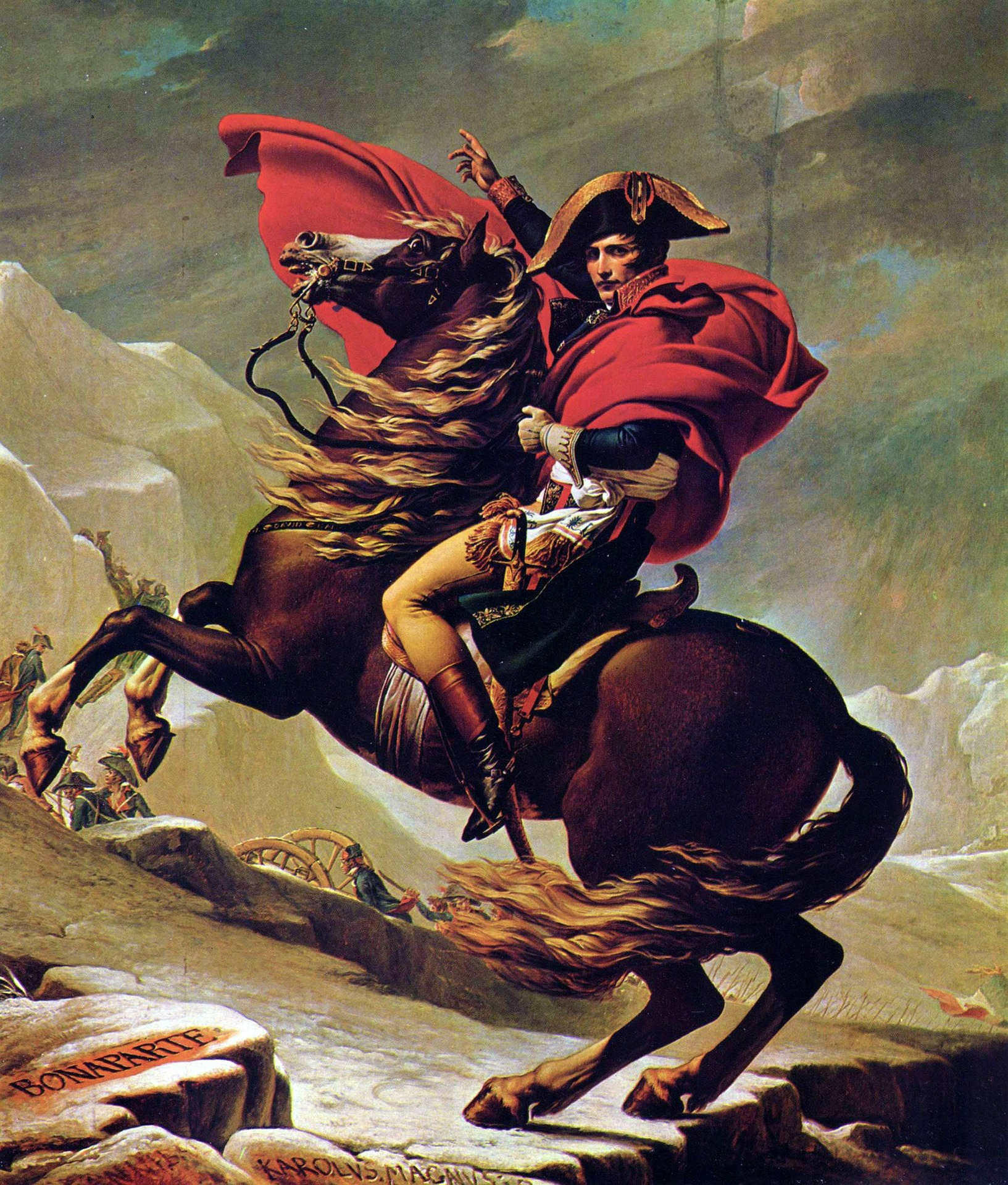 Europa i Napoleons mektige hender